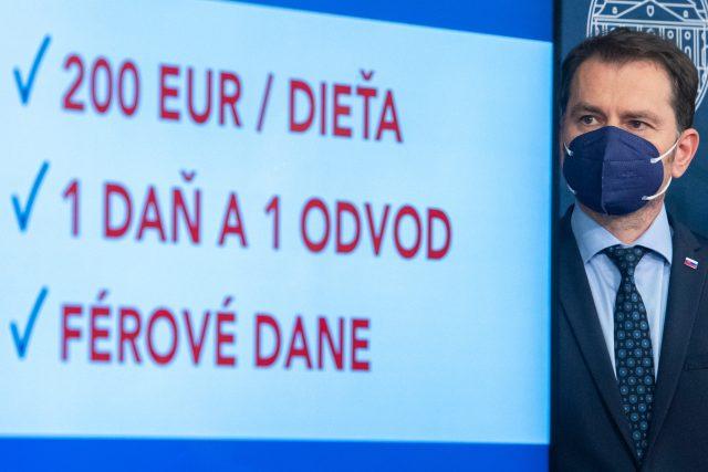 Návrh daňové reformy podle slovenského ministra financí Igora Matoviče   foto: Fotobanka Profimedia