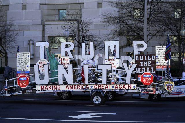 Podporovatelé Donalda Trumpa