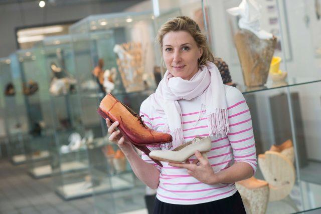 Designérka obuvi Jana Buch (snímek z roku 2015)