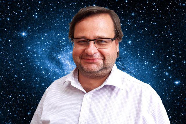 Jakub Rozehnal pozoruje hvězdy a umí o nich poutavě vyprávět | foto: Šárka Mattová,  Kateřina Perglová,  Český rozhlas