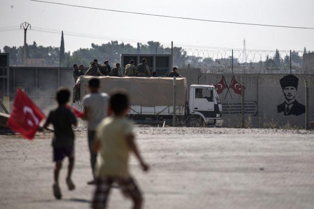 Turecký útok na kurdské síly v severovýchodní Sýrii