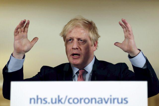 Britský premiér Boris Johnson | foto: Simon Dawson,  ČTK/AP
