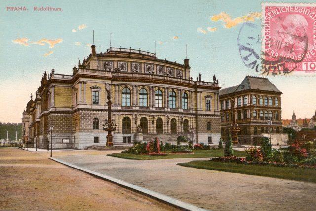 Rudolfinum,  1912 | foto: Profimedia