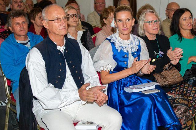Moderátorka Adela Banášová-Vinczeová se svým otcem Jozefem Banášem