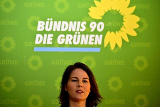 Spolupředsedkyně německých Zelených Annalena Baerbocková