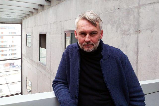Petr Borkovec, host pořadu Hovory