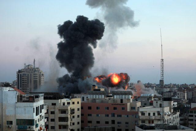 Izraelsko-palestinský konflikt - následky střel v pásmu Gazy | foto: Fotobanka Profimedia