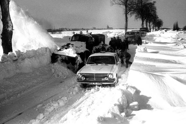 Extrémní zima v roce 1979 postihla i Německo