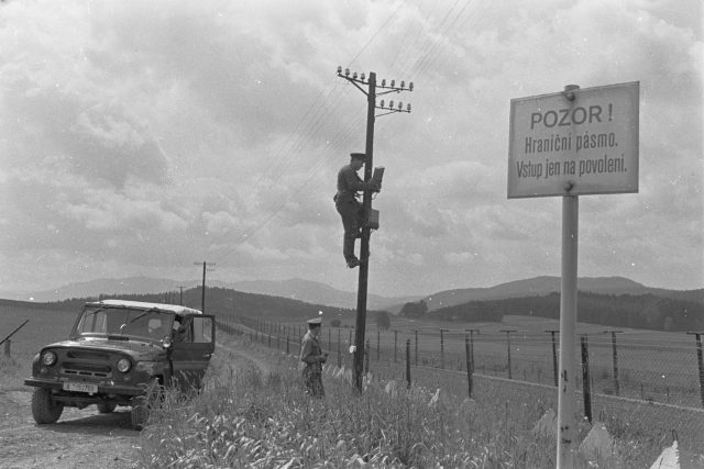 Železná opona - pohraničníci v roce 1988