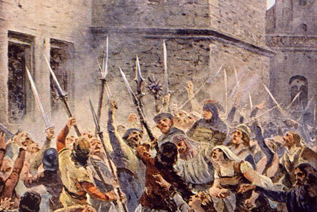 Třetí pražskou defenestrací v roce 1618 začalo České stavovské povstání i třicetiletá válka,  která zasáhla celou Evropu   foto: Profimedia