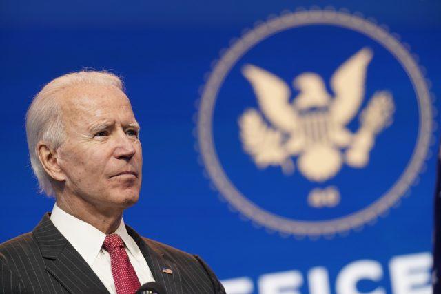 Zvolený prezidents USA Joe Biden