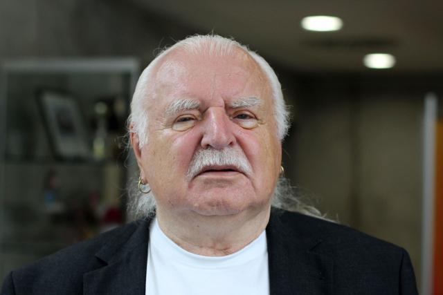 Bývalý ředitel Národní galerie Milan Knížák