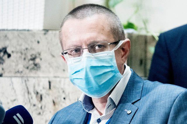 Šéf statistů Ladislav Dušek