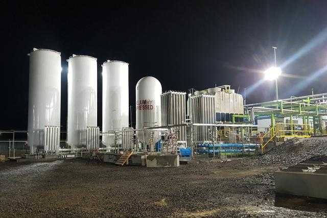 První česká továrna na kapalný vodík