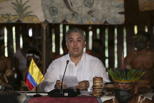 Kolumbijský prezident Iván Duque | foto: Fotobanka Profimedia