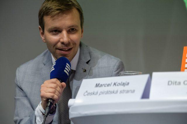 Europoslanec Marcel Kolaja (Piráti)