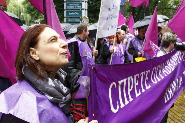 protesty v Bulharsku (Sofia, Bulgaria, 30/05/2012)
