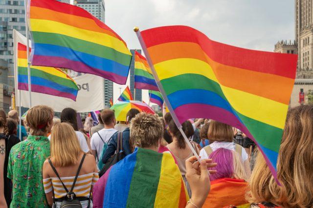 Průvod na podporu LGBT komunity