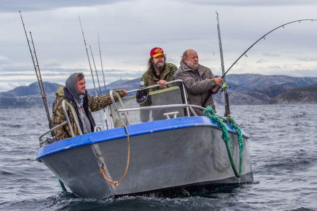Snímek z dokumentární komedie Svéráz českého rybolovu | foto: Aerofilms