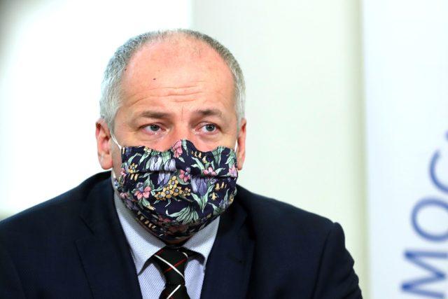 Epidemiolog a náměstek ministra zdravotnictví Roman Prymula