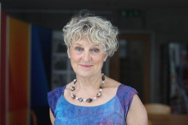 Jitka Vodňanská, psychoterapeutka a autorka knihy o Václavu Havlovi Voda, která hoří