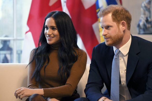 Princ Harry se svojí manželkou Meghan