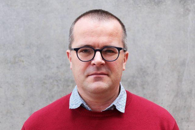Šéfredaktor zpravodajského serveru Aktuálně.cz Josef Pazderka