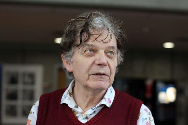 Alexander Tomský,  politolog a nakladatel,  překladatel   foto: Věra Luptáková,  Český rozhlas