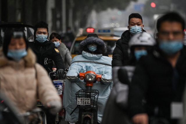 V ulicích čínského Wu-chanu