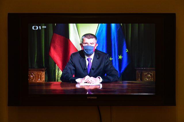 Premiér Andrej Babiš   foto: Roman Vondrouš,  ČTK