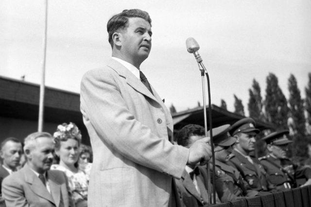 Bohumil Laušman v srpnu 1945