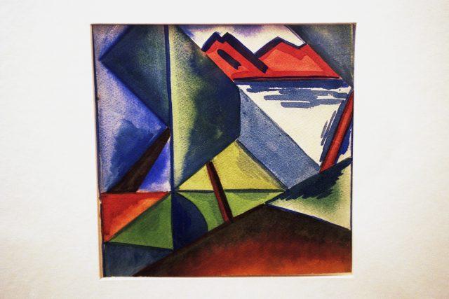 Karel Teige, výtvarník, dílo
