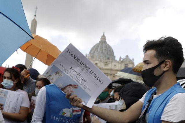 Papež František představil svoji encykliku Fratelli tutti (Všichni jsme si bratry)