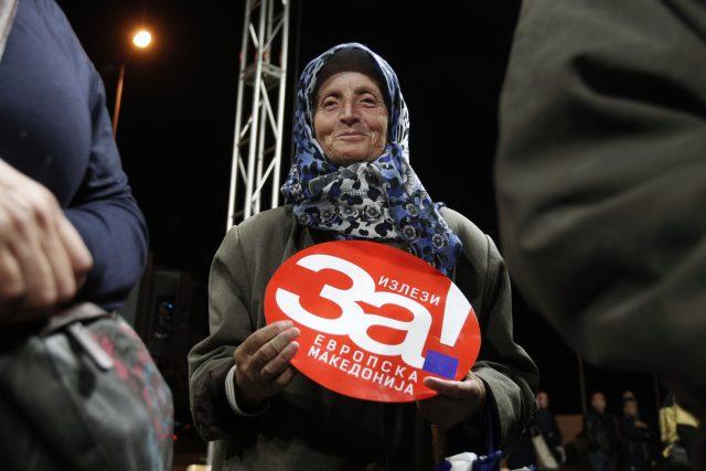 Tři čtvrtiny obyvatel Republiky Makedonie do západních struktur chtějí