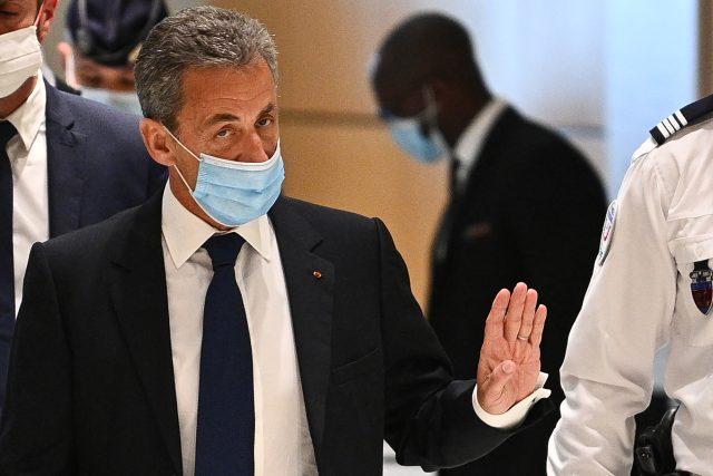 Bývalý francouzský prezident Nicolas Sarkozy před soudem   foto: Fotobanka Profimedia