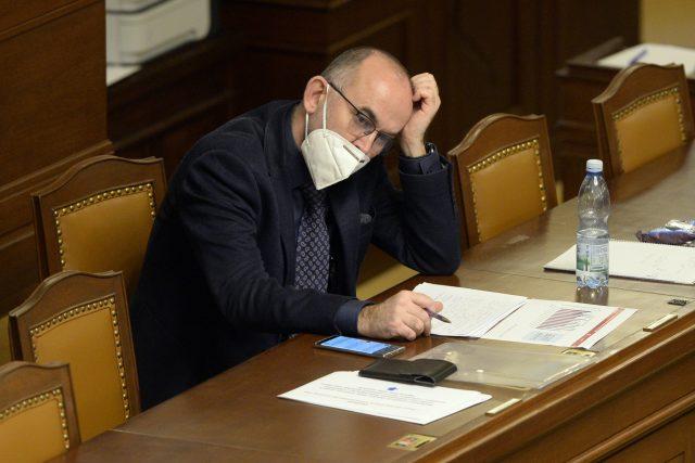 Ministr zdravotnictví Jan Blatný | foto: Kateřina Šulová,  ČTK