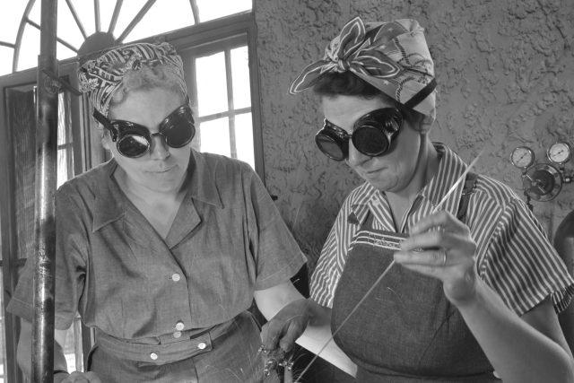 Ženy dělnice v druhé světové válce | foto: Shutterstock