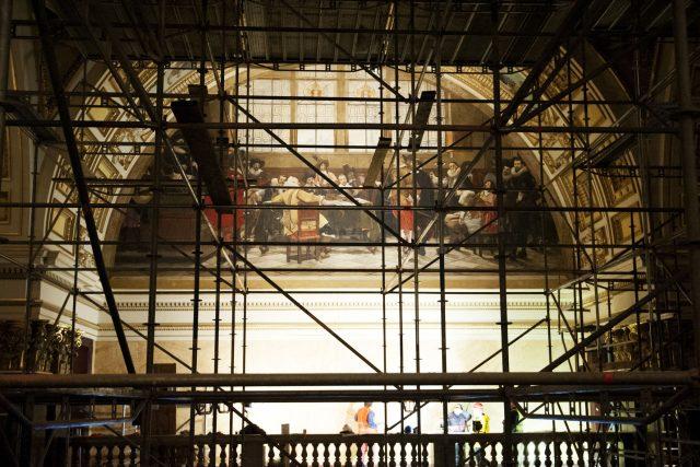 Rekonstrukce Národního muzea se chýlí ke konci (budova opery)