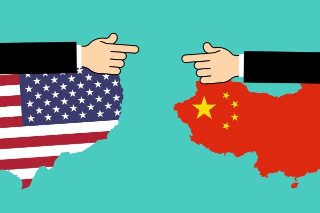 Obchodní válka mezi USA a Čínou (ilustrační snímek)