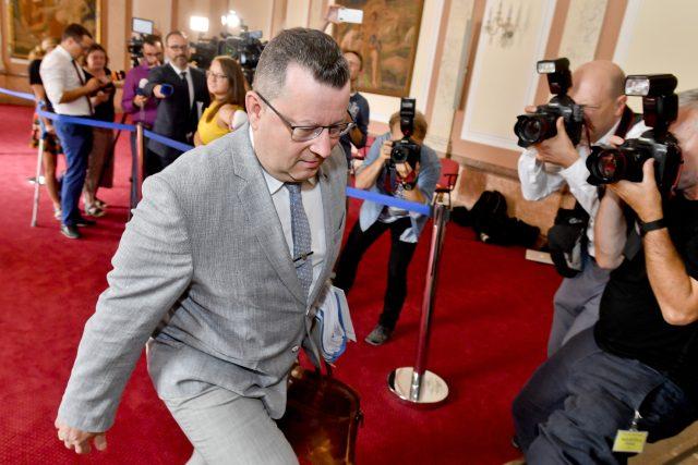 Končící ministr kultury Antonín Staněk