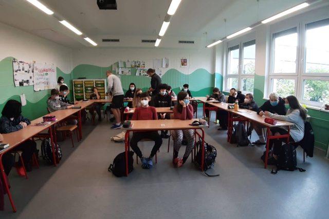Děti v Libereckém kraji se vrací do základních škol