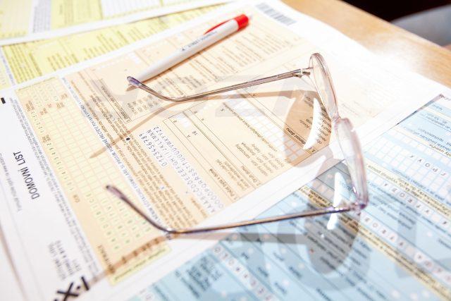 Formulář sčítání lidu (ilustrační foto)