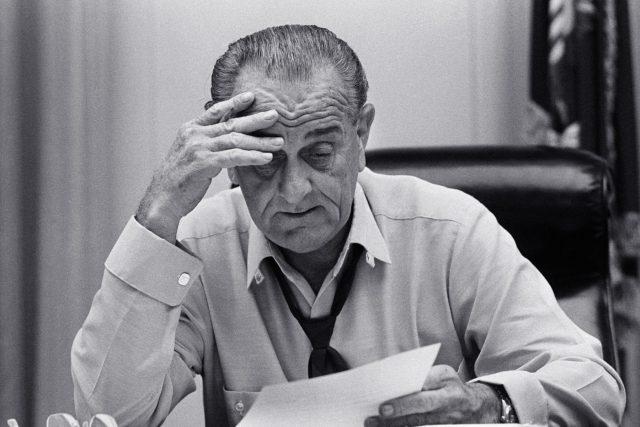 Americký prezident Lyndon B. Johnson | foto: Fotobanka Profimedia
