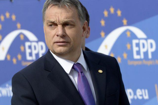 Strana maďarského premiéra Orbána už není součástí Evropské lidové strany.   foto:  Ezequiel Scagnetti,  ČTK/AP