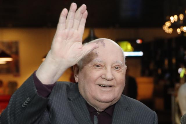 Michail Gorbačov v roce 2018