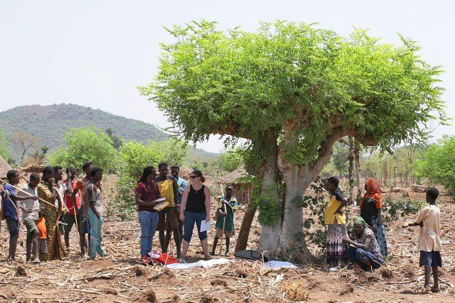 Markéta Smrčková v Etiopii   foto: Martin Čermák