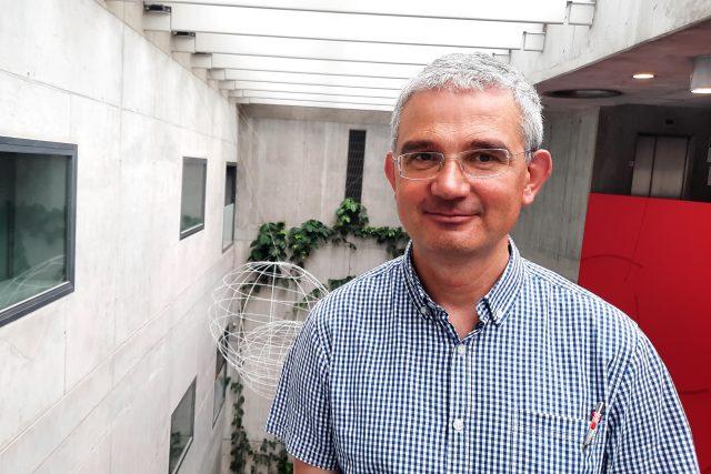 Petr Kubín,  historik a odborník na Cyrila a Metoděje a Jana Husa | foto: Naděžda Hávová