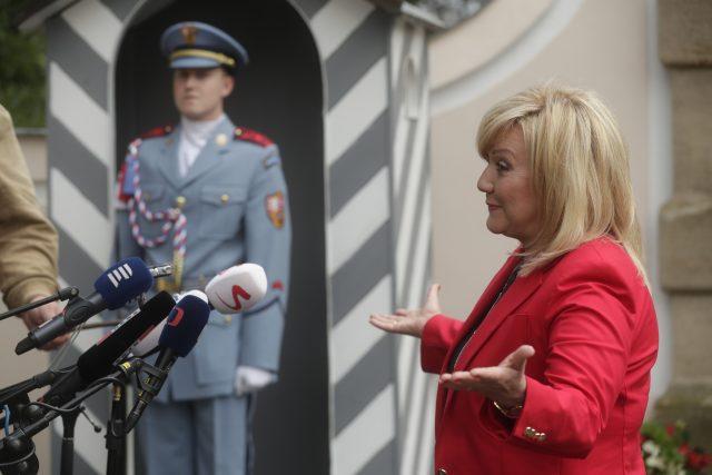 Ministryně financí Alena Schillerová  (za ANO) | foto: Jan Zátorský,  MAFRA / Profimedia