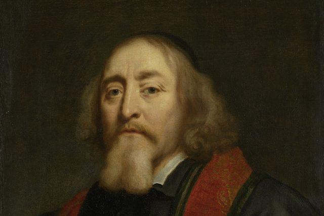 Jan Amos Komenský. Obraz holandského portrétisty Jürgena Owense, namalovaný mezi lety 1650-1670
