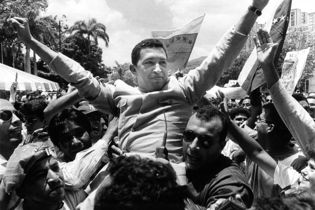 Jedna z kontroverzních postav světové politiky přelomu 20. a 21. století,  levicový populista s diktátorskými sklony. Tak je hodnocen bývalý venezuelský prezident Hugo Chávez | foto: Fotobanka Profimedia